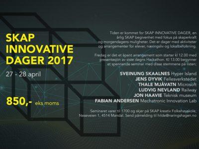 SKAP innovative dager 27. og 28. april
