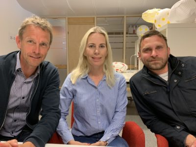 MH Arctic med demohus i Bjelland